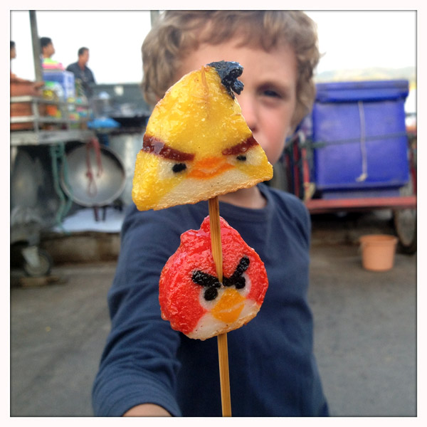 Chiang Saen - Angry Birds Streetfood