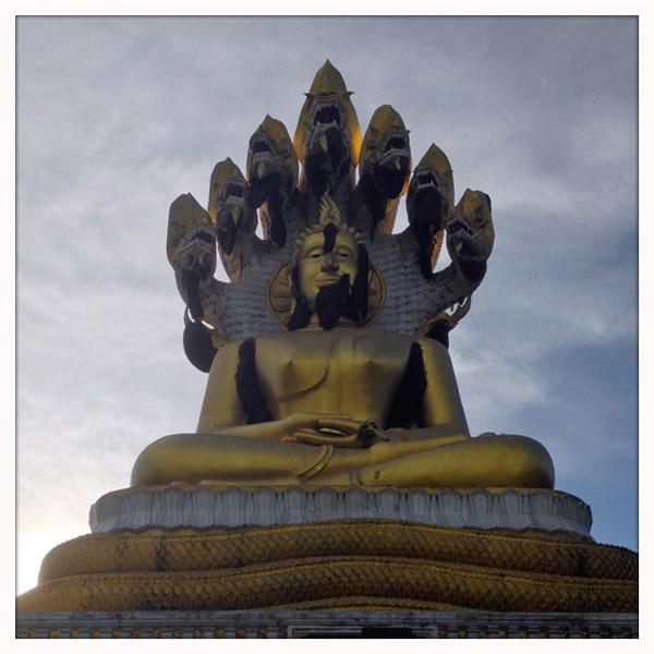 Thailand - tempel van Tha ton - De Boeddha met de baard