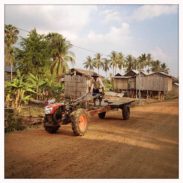 Cambodja - vreemd vervoer