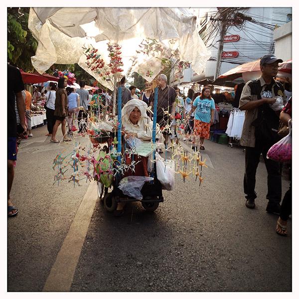 Chiang Mai - de avondmarkt