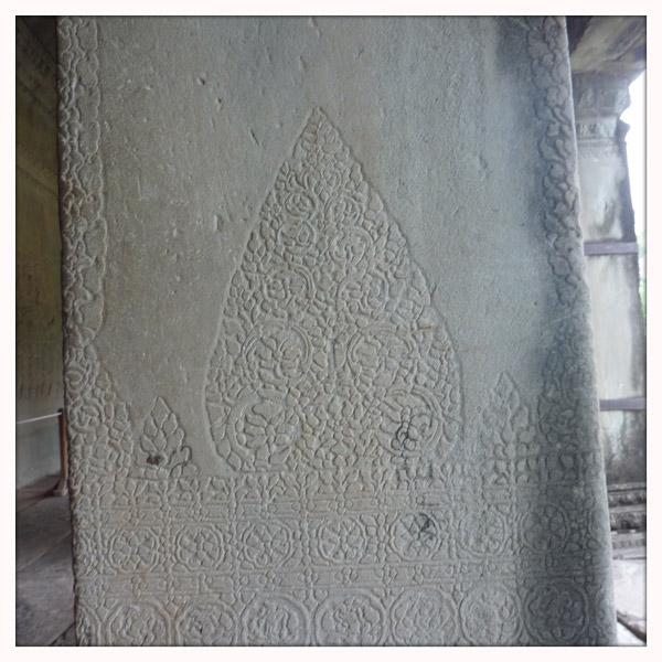 Cambodja - Siem Reap - Ankor Wat - tempel - relief