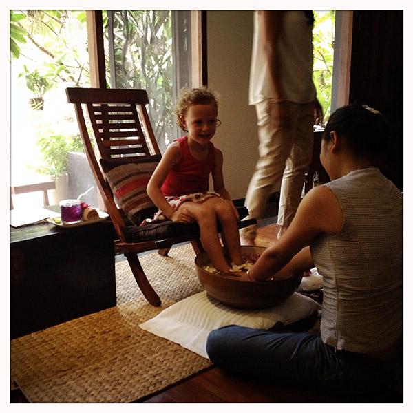 Cambodja - Siem Reap - massage bij Frangipani