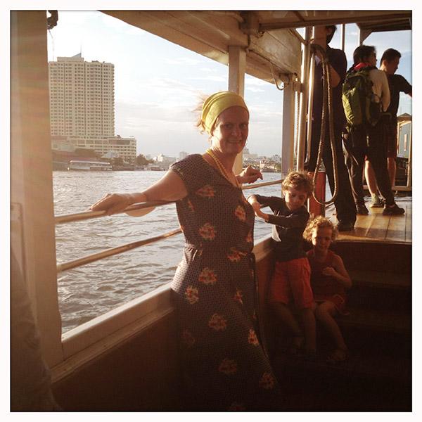 Express boat op de Chao Praya