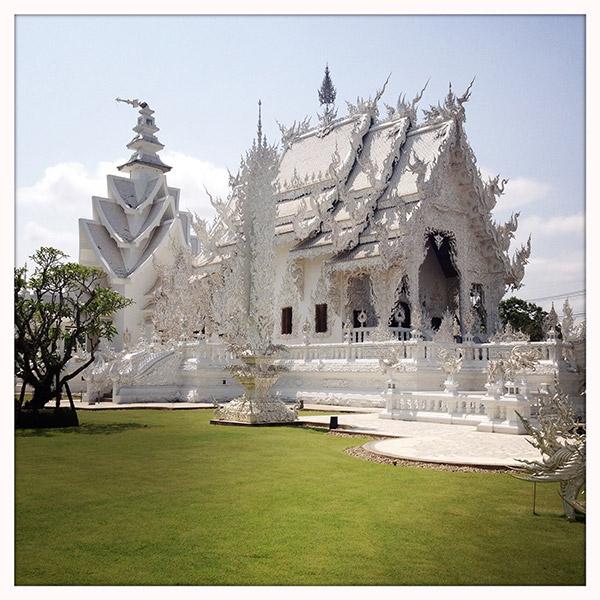 The White Temple: het lijkt op een groot suikerwerk